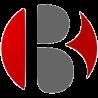 transparent B logo
